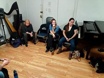 RAD Artists: Diane Ellis, Taylor Beyer, Caitlin Rae Diekhoff